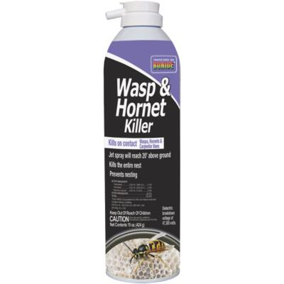 Bonide 15 Oz. Liquid Aerosol Spray Wasp & Hornet Killer