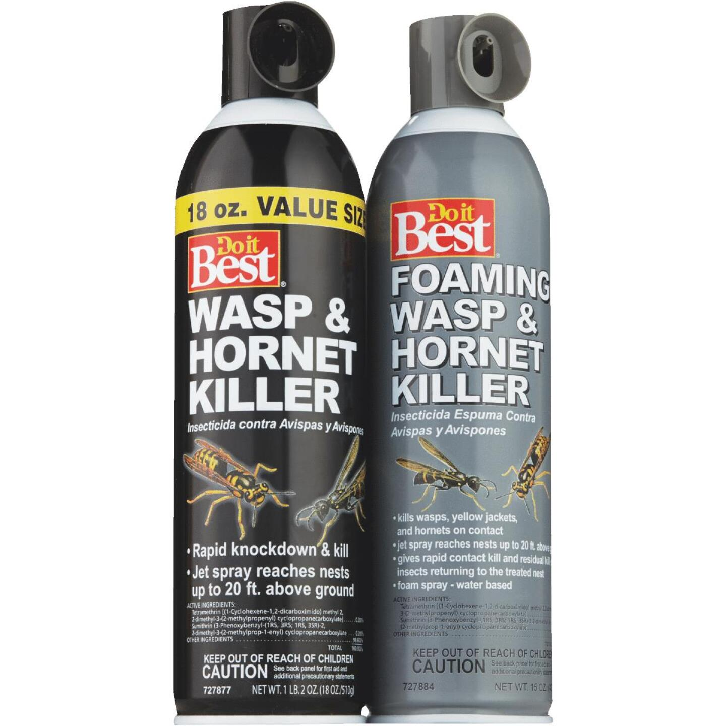 Do it Best 15 Oz. Foaming Aerosol Spray Wasp & Hornet Killer Image 4