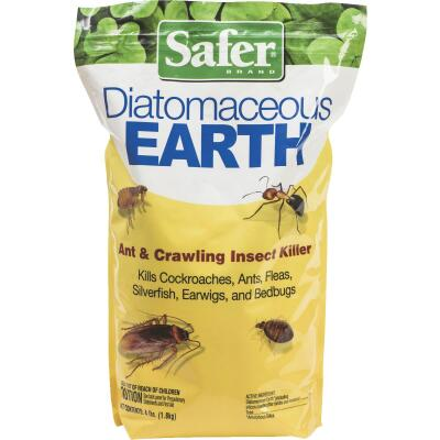 Safer 4 Lb. Ready To Use Powder Diatomaceous Earth Crawling Insect Killer